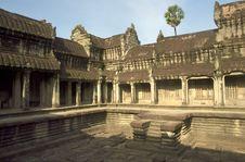 Free Angkor Wat Royalty Free Stock Photography - 19659587