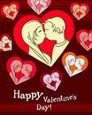 Free Happy Valentine Royalty Free Stock Photography - 19660177