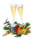 Free New Years Champagne Toast Stock Photography - 19662972