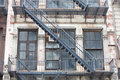Free Old Fire Staircase Royalty Free Stock Photography - 19663397