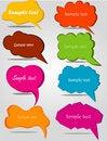 Free Colorful Hand Drawn Speech Stock Photo - 19664570