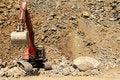 Free Stone Quarry Excavator Royalty Free Stock Image - 19667526