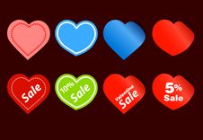 Free Sale Stickers Royalty Free Stock Photo - 19660005