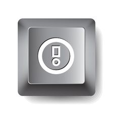 Free Computer Key. Notice Stock Photography - 19660042