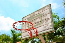 Free Basket Ball Hoop Stock Photography - 19660122