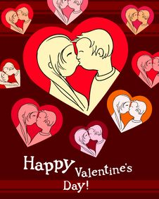Free Happy Valentine Royalty Free Stock Photography - 19660177
