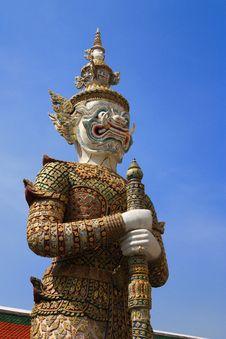 Free Thai Giant Royalty Free Stock Image - 19660286