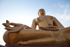 Free Big Buddha Statue Stock Photography - 19660722