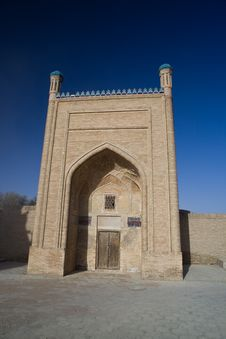 Free Front Entrance To Mosque Stock Images - 19661464