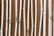 Free Bamboo Wall Stock Photo - 19661650
