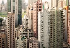 Free Skyscrapers Of Hong Kong Royalty Free Stock Photo - 19662075