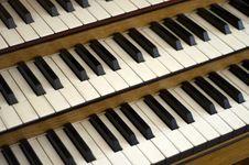 Free Piano Keys Stock Photo - 19662130