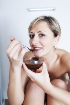 Free Before Chocolate Massage In Spa Salon Stock Photo - 19662160