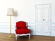 Free Chair In The Living Room Royalty Free Stock Images - 19662759