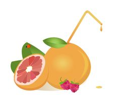 Free Grapefruits Juice Royalty Free Stock Photos - 19662798