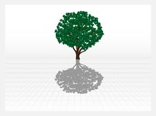 Free Vector Green Tree Stock Image - 19663481
