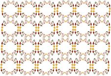 Free Retro Floral Pattern Royalty Free Stock Images - 19664009