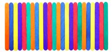 Free Colorful Wood Ice-cream Stick Stock Images - 19664024