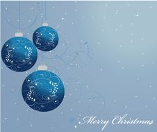 Free Ornamented Christmas Balls Royalty Free Stock Images - 19664029