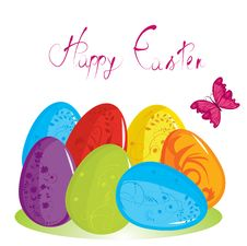 Free Easter Eggs Royalty Free Stock Images - 19664119