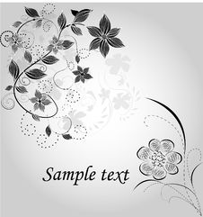 Free Floral Abstract Design Royalty Free Stock Photography - 19664497