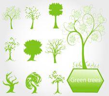 Free Eco Green Trees Stock Photo - 19664630