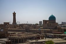 Free Bukhara Old City View Stock Photos - 19665373