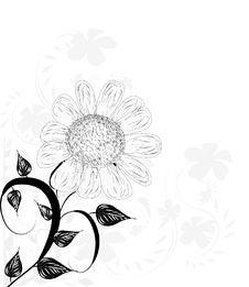 Free Decorative Flowers Stock Image - 19666741