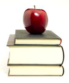 Free Apple On Books Stock Photos - 19666843