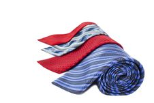 Free Some Multi-colored Man S Ties Royalty Free Stock Photography - 19667907
