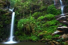 Free The Waterfall In The North Of Thailand Stock Photos - 19668363