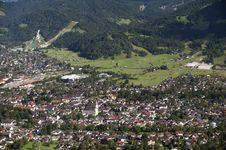 Free German City Garmisch Royalty Free Stock Photography - 19668457