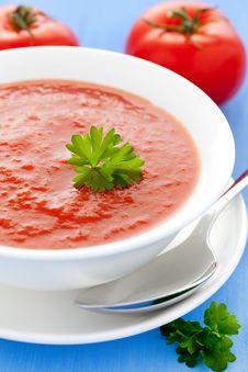 Free Tomato Soup Stock Photography - 19668562