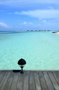 Free Maldives Island Stock Photography - 19668782