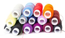 Free Multi-colored Threads Royalty Free Stock Photography - 19669247