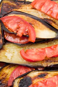 Free Fried Eggplant Royalty Free Stock Image - 19669496