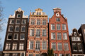 Free Canal Houses, Amsterdam Stock Photo - 19670340