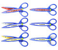 Free Colorful Zigzag Scissors Royalty Free Stock Photography - 19677497