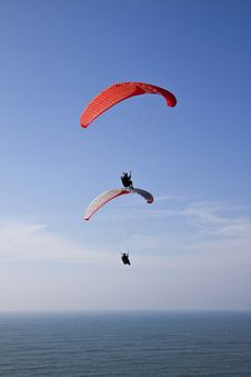Free Free Flying Glider Royalty Free Stock Photo - 19670185