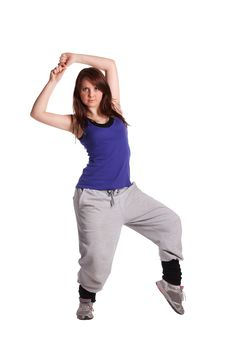 Free The Hip-hop Dancer Royalty Free Stock Images - 19670319