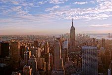 Free Sunset Over Manhattan Stock Photo - 19670590