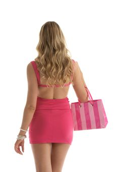 Free Beautiful Woman With Shopping Bags Stock Images - 19671544