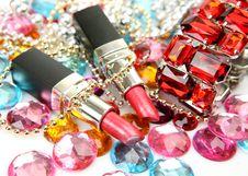 Free Decorative Cosmetics Stock Image - 19672041