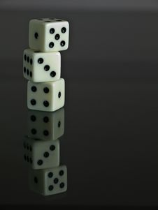 Free Dice Royalty Free Stock Photography - 19672067