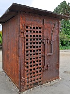 Free Old Western Jail Royalty Free Stock Images - 19672209