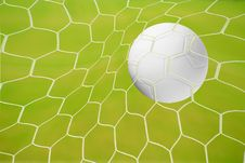 Football Goal, Goal, Goal! Stock Photos