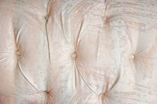 Buttoned Sofa Royalty Free Stock Image