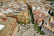 Free The Streets Of Seville Royalty Free Stock Images - 19673489