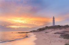 Free Lightouse & Pastel Colors Royalty Free Stock Photography - 19674217