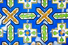 Free Antique Colorful Tiles Royalty Free Stock Image - 19674536